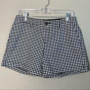 Black White Gingham Everyday Shorts